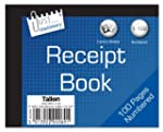 Just Stationery Receipt Book