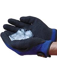 Guantes de invierno para hielo - Resistencia a temperaturas extremas por debajo de los -22ºC (Large)