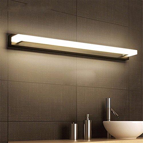 Luz LED frontal vidrio/vidrio prueba agua/espejo no