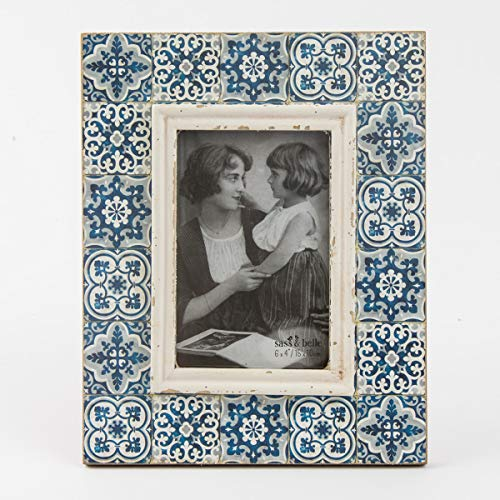 Mediterranean Mosaic Photo Frame