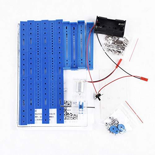 Vorbildliche zusammengebaute Diy zweibeinige Roboter-Fernsteuerungsversion der regelmäßigen Version des handgemachten materiellen Pakets - Blau