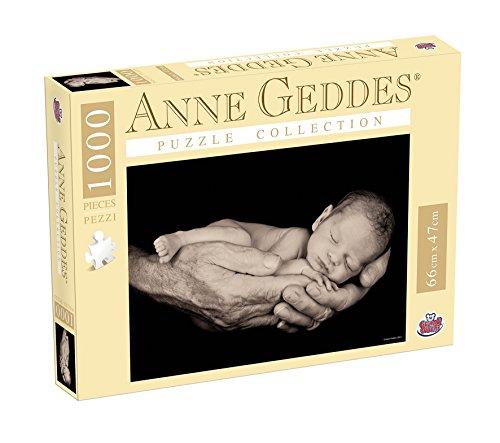 Grandi Giochi GG90102 - Puzzle Anna Geddes 1000 Pezzi, Father's Hands