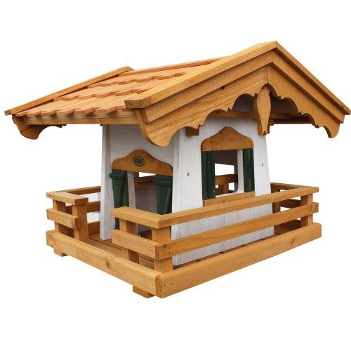 Habau 1795 Vogelhaus Schwarzwald mit Silo und Ständer