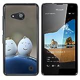 OB-star ( Huevo ) NOKIA Lumia 550 Impreso Colorido Protector Duro Espalda Funda Piel De Shell