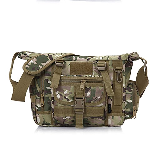Coafit UmhäNgetasche AußEntasche Nylon Crossbody Fashion Bag FüR MäNner (Camouflage) -