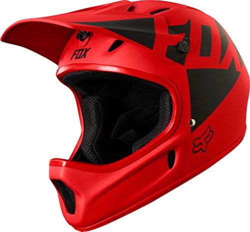 Fox Rampage Landi Helmet, Red, tamaño XL