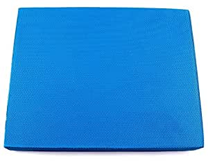 Functional Fitness Blue Soft Balance Pad - Includes (1) Blue Foam Balanced Body Pad measuring 19 inch x 16 inch x 3 inch