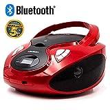 Lauson Boombox | Portable Radio CD Player with Bluetooth | Usb & MP3