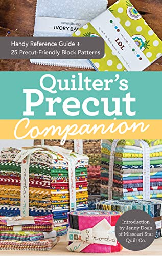 panion: Handy Reference Guide + 25 Precut-Friendly Block Patterns (English Edition) ()