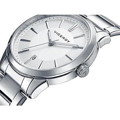 Viceroy Reloj Analogico para Mujer de Cuarzo con Correa en Acero Inoxidable 46661-07