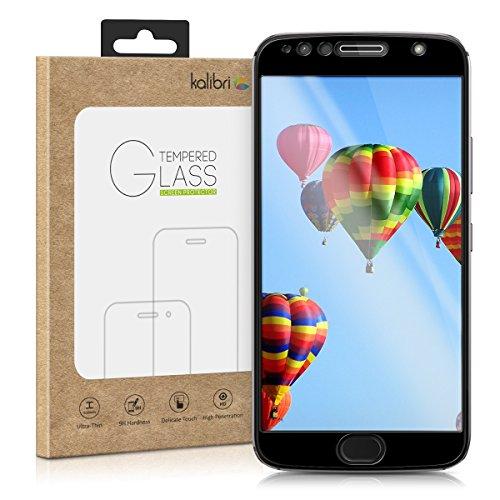 kalibri-Echtglas-Displayschutz-fr-Motorola-Moto-G5S-Plus-3D-Schutzglas-Full-Cover-Screen-Protector-mit-Rahmen-Glas-Folie-auch-fr-gewlbtes-Display-in-Schwarz