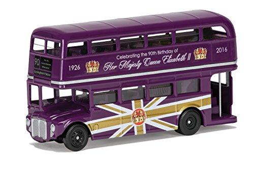 Corgi cc82326die zum 90. Geburtstag von 1792GEDENKMÜNZE Druckguss Souvenir Classic Routemaster Modell