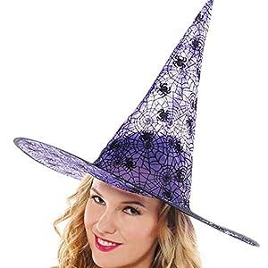 Amscan Internacional adultos sombrero de bruja (-morado)