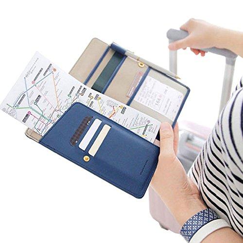 Boarding Veranstalter (EQLEF® Poly Urethane Leder Spielraum-Pass-Kompakttasche Geldbörse)