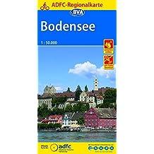 ADFC-Regionalkarte Bodensee, 1:50.000, reiß- und wetterfest, GPS-Tracks Download (ADFC-Regionalkarte 1:50000)