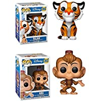 Funko POP! Aladdin: Rajah + Abu – Stylized Vinyl Figure Set NEW