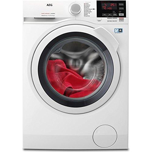 AEG L7WBG741R 7kg Wash/4kg Dry 1400rpm Freestanding Washer Dryer - White