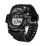 NEEKY Herren Armbanduhr,Sportuhren,Smartwatch,Für Unisex Fitness Uhren - Multi Funktions wasserdichte Uhr LED Digital Double Action Watch