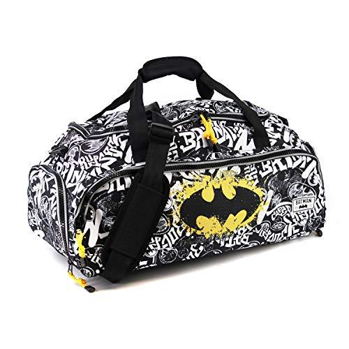 Karactermania Batman Tagsignal-Nomad Sports Bag Sporttasche, 57 cm, 13.5 liters, Grau (Grey) -