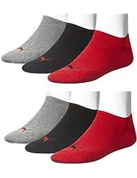Puma 251025Lot de 6 paires de chaussettes de sport basses unisexes