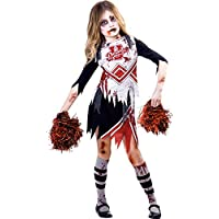 Amscan Déguisement Enfant Fille Pom-Pom Girl Zombie Halloween