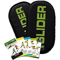 STOP! Fitness Super Sliding Pads (1 Paar) inkl. Kurzanleitung und Trainingsplaner