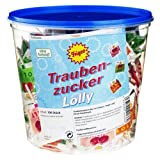TRAUBENZUCKER Lolly 3fach 1 St