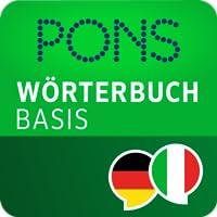 PONS Wörterbuch Italienisch - Deutsch BASIS