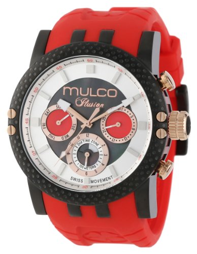 MULCO Unisex MW3-11169-065 Lincoln Illusion Chronographe Analogique Swiss MoveHommet Montre