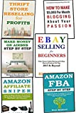 6 in 1 HOME BASED BUSINESS BUNDLE: Blogging, Thrift Store, AirBNB, Amazon Affiliate Marketing, FBA Program and Ebay Selling (English Edition)