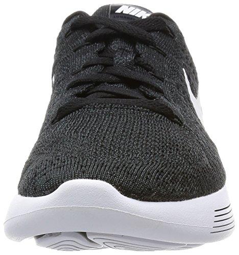 Nike Lunarepic Low Flyknit, Scarpe da Corsa Uomo Nero / bianco-antracite