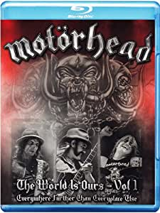 Motörhead - The Wörld is Ours Vol. 1: Everywhere Further Than Everyplace Else [Blu-ray] [Limited Edition]