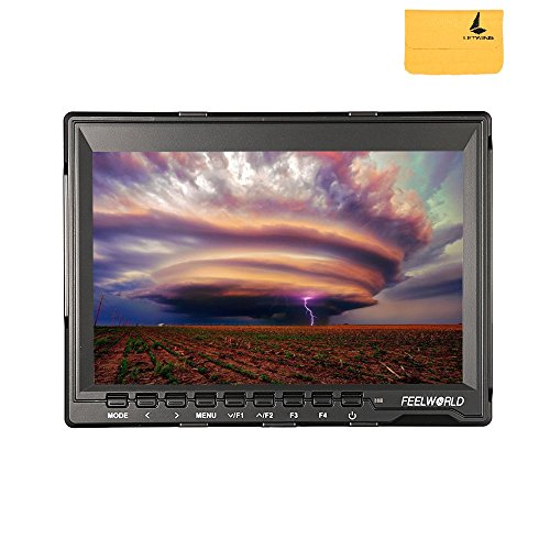 Preisvergleich Produktbild Feelworld fw759 7 Zoll Ultra HD IPS 1280 x 800 HDMI-Monitor Kamera