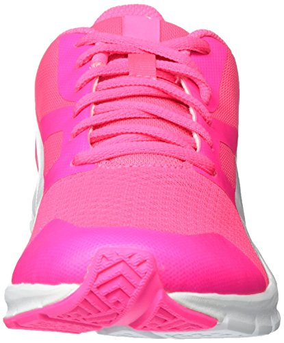 Puma Unisex-Erwachsene Flexracer Low-Top Pink (Knockout Pink-Puma White 24)