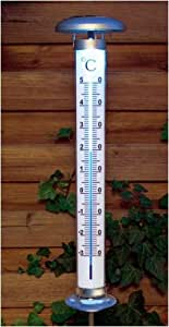 Thermometer mit Solarbeleuchtung
