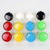 12 Stück Original Original Sanwa OBSF-30 Taster Für Arcade Joystick Spiele Konsole 6 Farbe 30mm Tasten