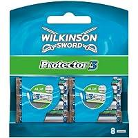 Wilkinson Sword Protector Rasierklingen Klingen, für Herren Rasierer, 8 St