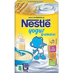 Nestlé Papillas - 8 Cereales Con Yogurt A Partir De 8 Meses 600 g