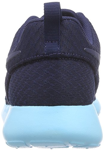 Nike rosche Run Damen Sneakers Blau (444 MIDNIGHT NAVY/MID NVY-TD PL BL)