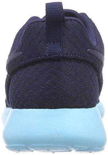 Nike Rosche Run Damen Sneakers Blau (444 MIDNIGHT NAVY/MID NVY-TD PL BL)