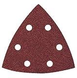 KLINGSPOR SCHLEIFSYSTEME GMBH CO. KG & SCPS22K1 K,120 Triangle Velcro Sanding Sheets Punched KLINGSPOR