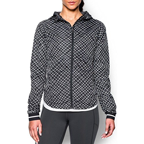Under Armour Damen Running Jacke Layered Up Storm Jacket Grey