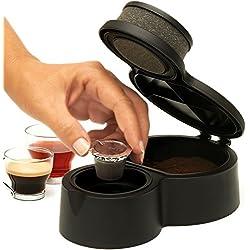 Encapsulador de café molido para usarlo en Nespresso o similar