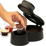 KLAPCAP ¡Novedad Prepara Tus cápsulas compatibles Nespresso. Café e infusiones en 15 Segundos. Cápsulas rellenables y Reutilizables. EcoFriendly.
