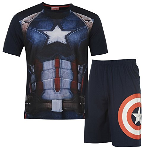 mens-marvel-avengers-civil-war-licensed-pj-set-pyjamas-2-piece-nightwear-size-s-xxl-large