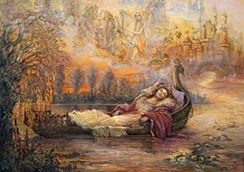 Grafika Puzzle 1500 pièces - Josephine Wall - Dreams of of of Camelot | élégante  d47009