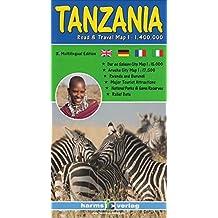 Tanzania/Rwanda/Burundi 1/1m4