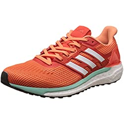 adidas Supernova Glide, 9 Zapatillas Deportivas Mujer, Naranja (Energy/Footwear White/Easy Orange), 38 EU