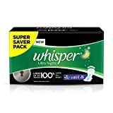 Whisper Ultra Overnight Sanitary Pads XL...