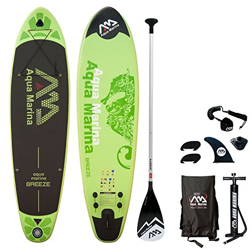 Happy Garden Stand Up Paddle Gonflable Breeze avec Pompe...